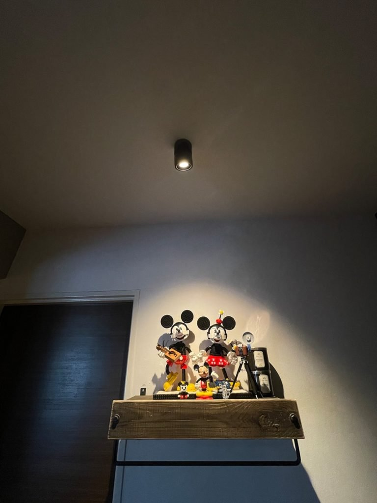 Mickey Mouse Collection illuminated by VIO Smart ceiling spot light