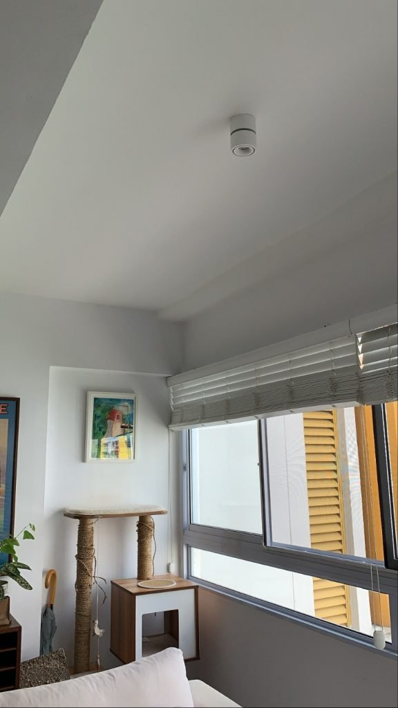 VIO Symmetry smart ceiling light is an excellent way to have high quality smart light on areas with no false ceiling